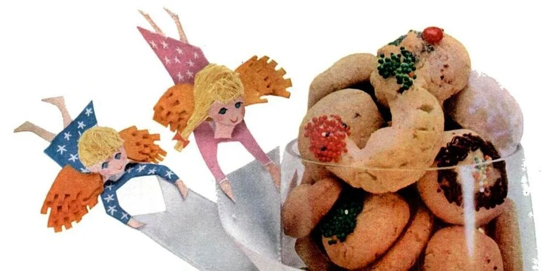 Swedish heirloom cookies (1956)